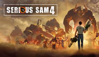 Постер Serious Sam 4